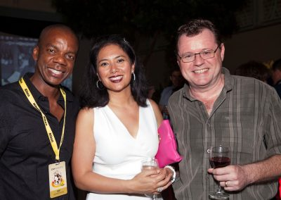 Co Producers Michelle Morgan & Malcolm Ellis at CayFilm